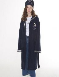 [Oct.3] October3rd Sailor Collar Bathing Gown [Navy]