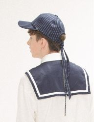 [Oct.3] October3rd Layered Tie Cap [Navy]