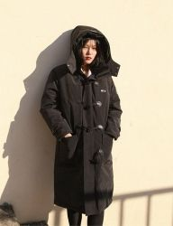 [Oct.3] October3rd Duffle Padding Coat [Black]