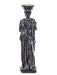 [FAUST ATELIER] Greece Statue Candle_Hestia [Black]