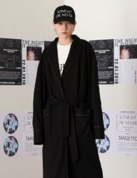 [TARGETTO] OVERSIZE ROBE BLACK