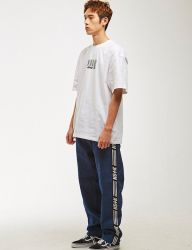 [NASTY KICK] NSTK LINE TRACK PANTS 2 [DENIM]