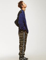 [NASTY KICK] NSTK LINE TRACK PANTS 2 [TIGER CAMO]