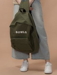 [SALADBOWLS] 18 BOWLS BACKPACK [KHAKI]