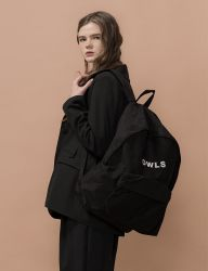 [SALADBOWLS] 18 BOWLS BACKPACK [BLACK]