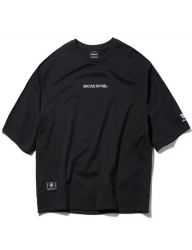 [GROOVERHYME] 2018 SLEEVE LETTERING T-SHIRTS OVER FIT [GTS006G13]
