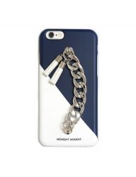 [MIDNIGHT MOMENT] white navy tassel case