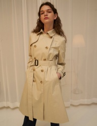 [1159STUDIO] MH5 1159 CLASSIC TRENCH RING COAT_LB