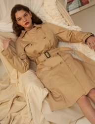 [1159STUDIO] MH5 1159 CLASSIC TRENCH RING COAT_BE