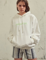 [SCULPTOR] SCP OUTLINE-LOGO HOODY [WHITE]