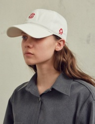 [SCULPTOR] SCULPTOR BASEBALL CAP [WHITE/BROWN/NAVY]