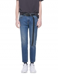 [VUIEL] BLUE WASHED SLIM DENIM
