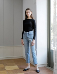 [YUPPE] yuppe denim pants