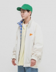 [WKNDRS] CITY BREAK BLOUSON [IVORY]