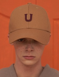 [UNALLOYED] U PATCH BALLCAP / CAMEL