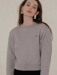 [DIAGONAL] BACK SLIT SWEATSHIRTS