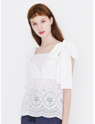 [margarin fingers] broderie anglaise top