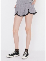 [margarin fingers] lace banding shorts