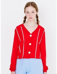 [margarin fingers] pin stripe cardigan