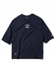 [GROOVERHYME] 2018 POLICE CAR 3-QUARTER SLEEVE T-SHIRTS OVER FIT [GTS010G13]