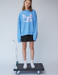 [bpb] Smile B Sweatshirt_Sky Blue