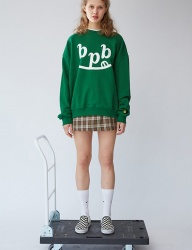 [bpb] Smile B Sweatshirt_Green