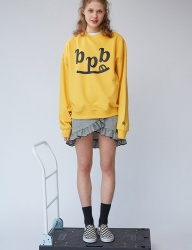 [bpb] Smile B Sweatshirt_Yellow