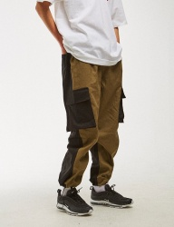 [NASTY KICK] [NSTK] NLMT 2FACE CARGO PANTS [KHAKI]