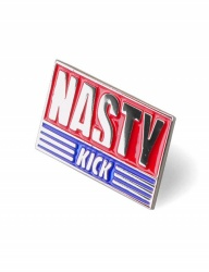 [NASTY KICK] [NSTK] NSTK FLAG LOGO PIN [NIKEL]
