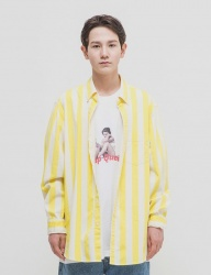 [WKNDRS] STRIPE SHIRTS [YELLOW]