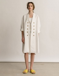 [nuissue] DOUBLE TRENCH DRESS