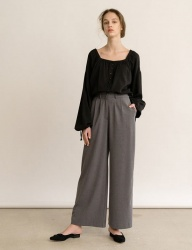 [nuissue] WIDE TROUSERS