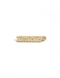 [13month] LOGO BROOCH (GOLD)