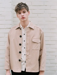 [NOMINATE] TWILL JACKET [BEIGE]