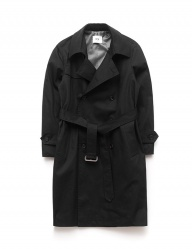 [QT8] TW Trench Coat (Black)