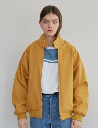 [MAINBOOTH] Reversible Blouson(MUSTARD)