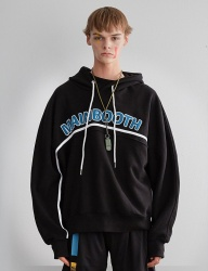 [MAINBOOTH] Dolman Basic Hood T-shirt(BLACK)
