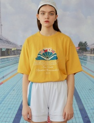[MAINBOOTH] Beograde T-shirt(MUSTARD)