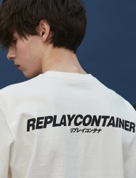 [replaycontainer] replaycontainer sig cotton tee (white)