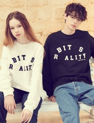 [LIBERTENG] LETTERING SWEAT SHIRTS