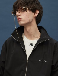 [replaycontainer] recon track jacket (black)
