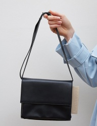 [oioi] 3WAY SQUARE LEATHER BAG