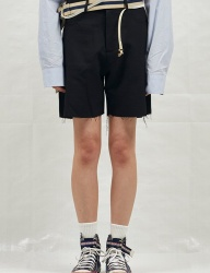 [CHUCK] 18SS CUTTING SHORT SLACKS