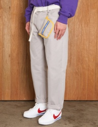 [UMM] [UNSEX] RETRO BOYFIT PANTS _ GREY