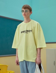 [TRUNK PROJECT] Trunkproject logo T-shirts_YELLOW