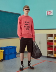 [TRUNK PROJECT] Lettering sweater_PINK