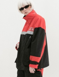 [B ABLE TWO] Reflection Wind Breaker (RED)