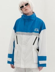 [B ABLE TWO] Reflection Wind Breaker (BLUE)