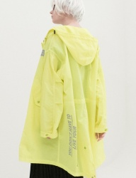 [B ABLE TWO] Reflection Safari Rain Coat (GREEN)