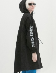[B ABLE TWO] Reflection Safari Rain Coat (BLACK)